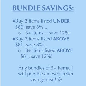 Bundle deals for my page! 20-30 new items coming!